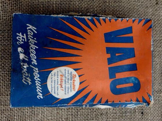 40-luvun mainoksia: Valo-pyykinpesuaine