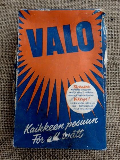 40 luvun mainoksia –Valo-pyykinpesuaine