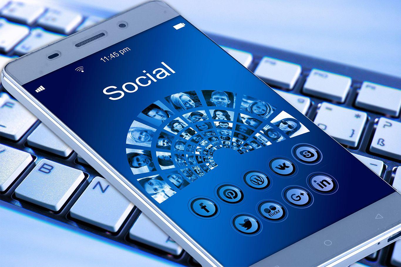 Sosiaalinen media 2017