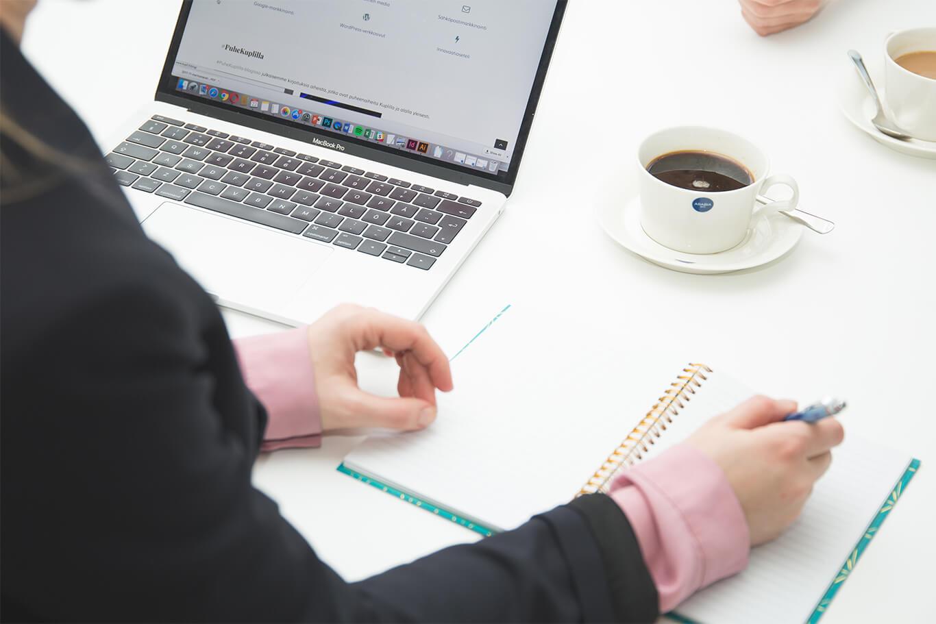 Yritysblogin hyödyt