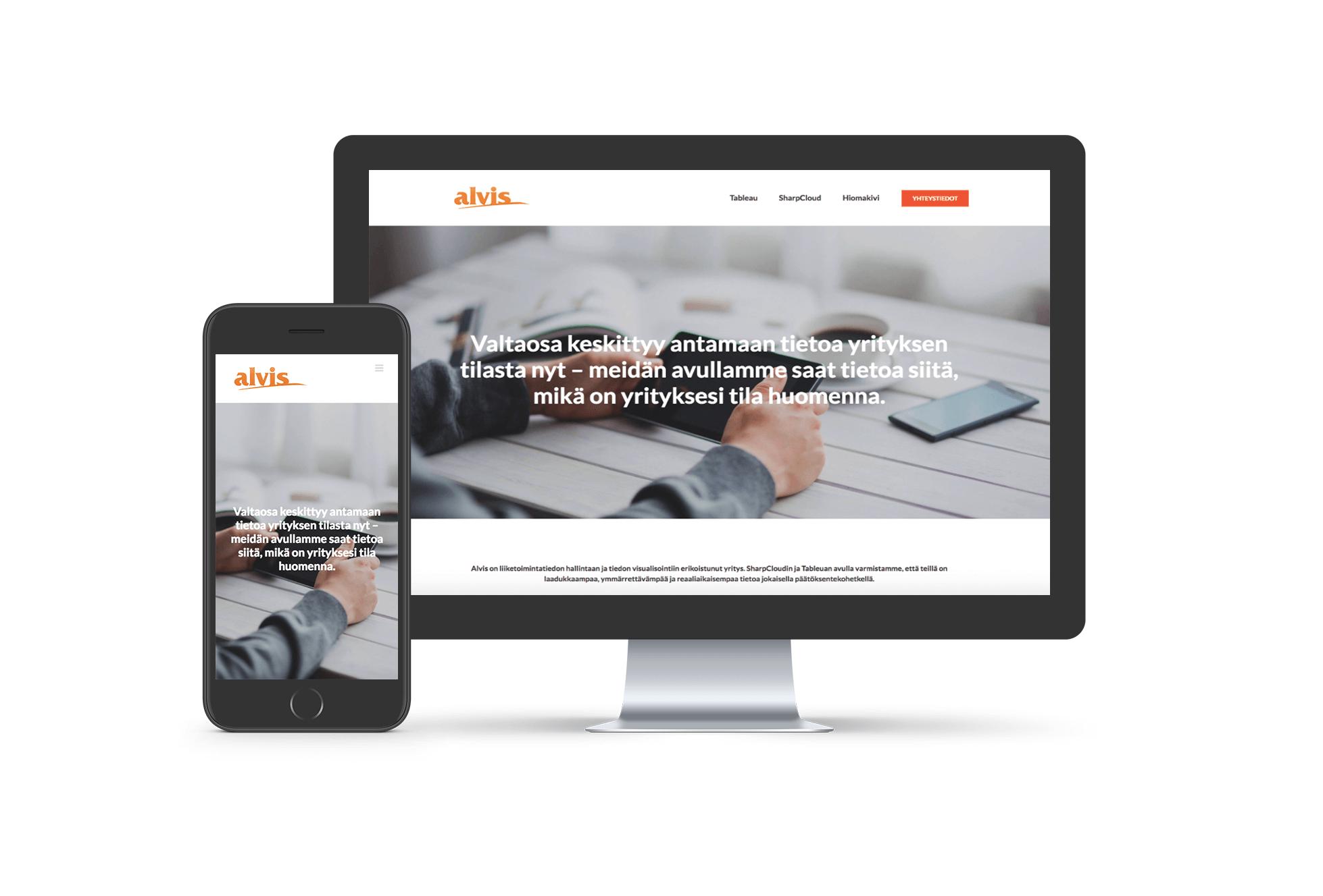 Alvis-verkkosivut