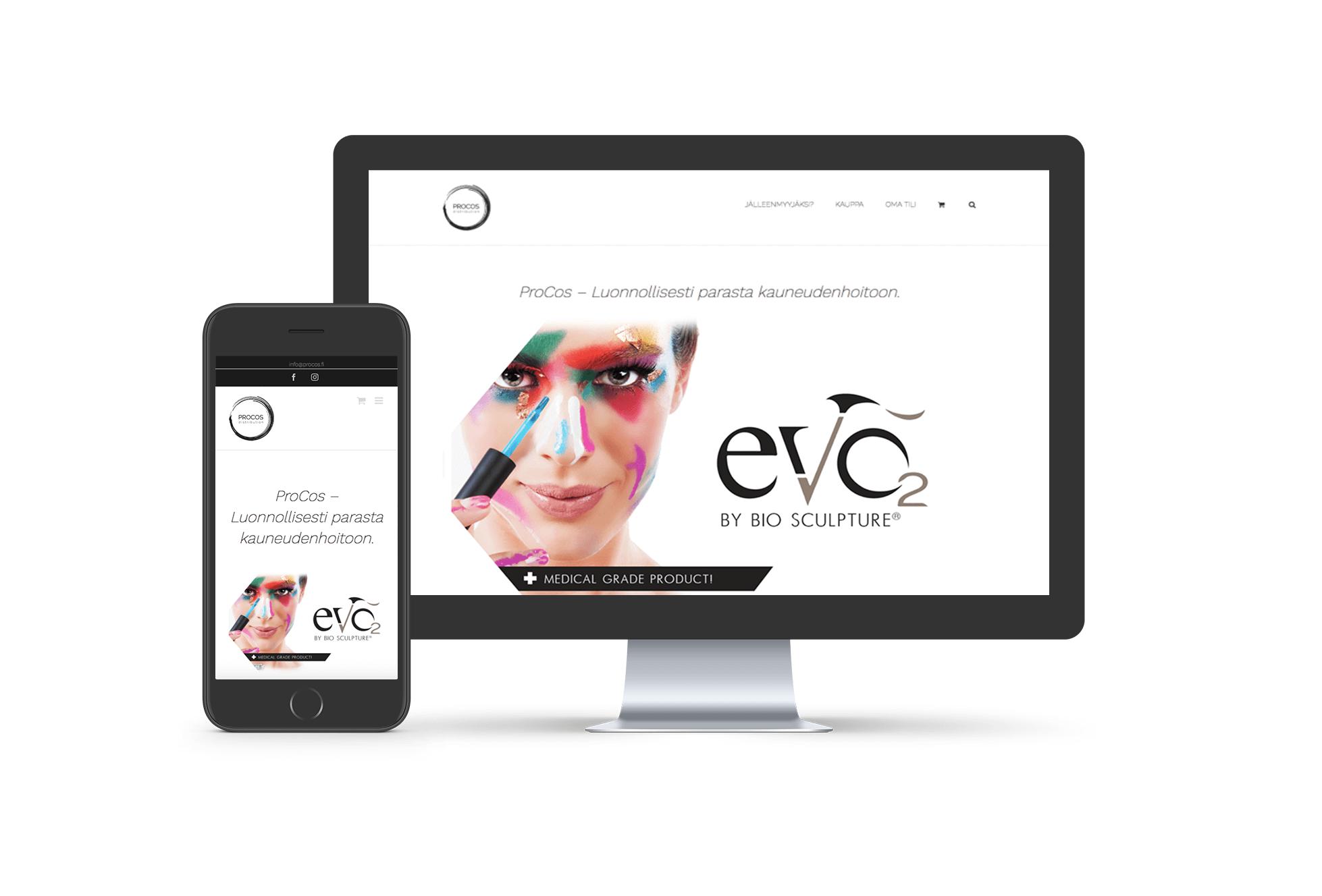 ProCos - WordPress-verkkosivut