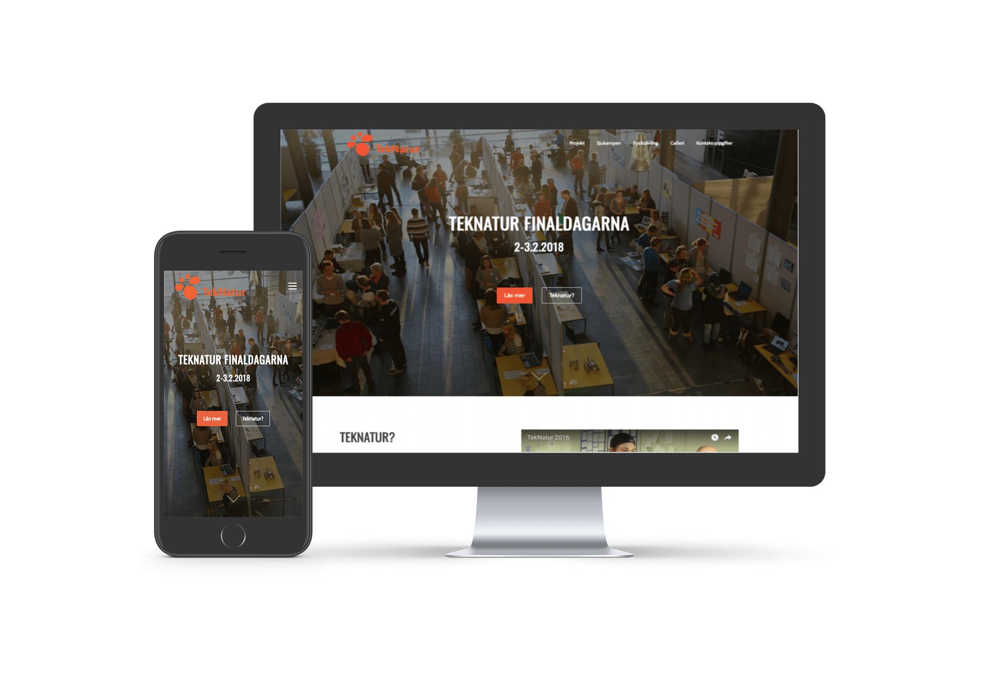 Teknatur - Wordpress-verkkosivut