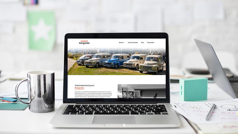 Business Kangasala wordpress