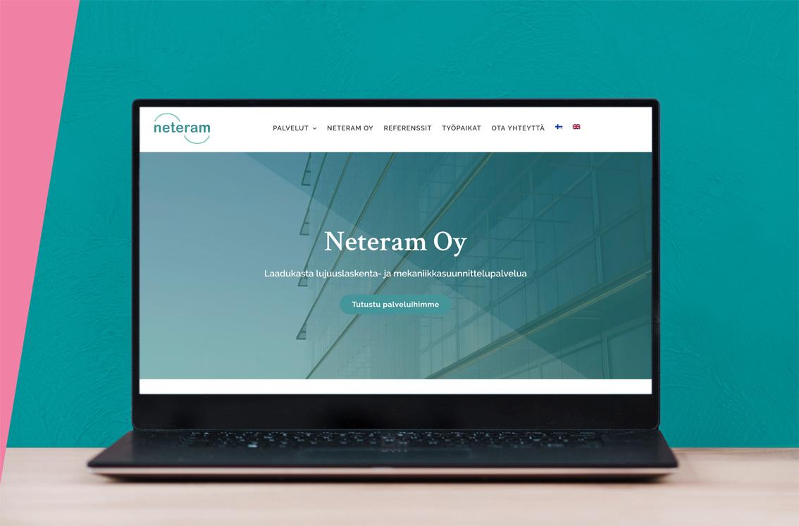 Neteramin WordPress-sivusto