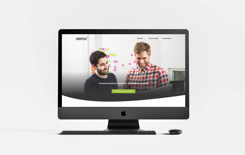 Verco - WordPress-verkkosivuston etusivu