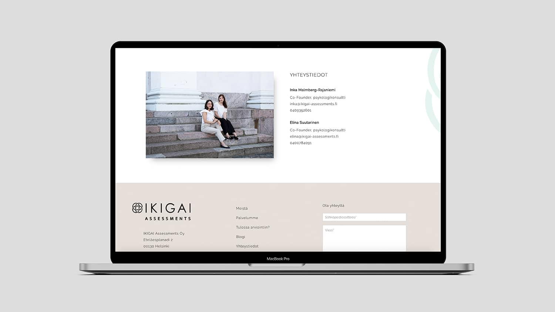 Ikigai assessments verkkosivut